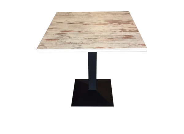 Melaminetafel Whitewash