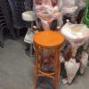 oranje thonet barkrukken