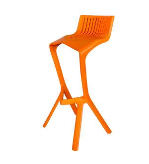 Barkruk Rhodos oranje